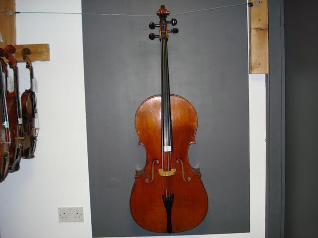 A Mittenwald Cello   circa 1900 (4)