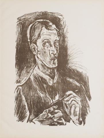 Oskar Kokoschka (Austrian, 1886-1980) O Ewigkeit – Du Donnerwort So Spanne Meine Glieder Aus The album,