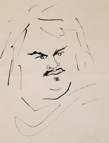 Jean Cocteau (French, 1892-1963) Honore de Balzac