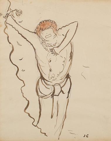 Jean Cocteau (French, 1889-1963) Sarah Bernhardt