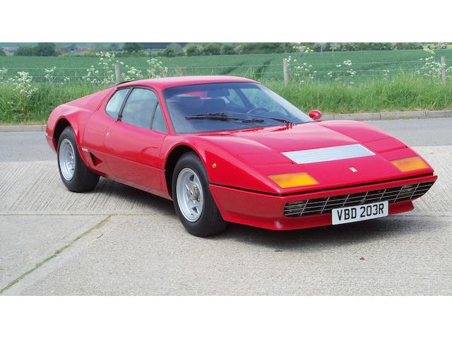 4,413 kilometres from new,1977 Ferrari 512 Berlinetta Boxer  Chassis no. 20977
