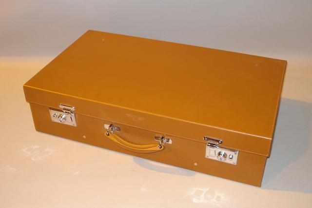 A large size Bentley Suitcase.