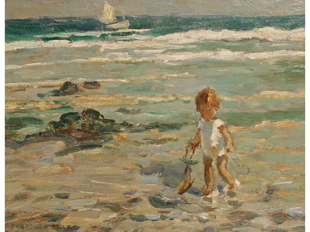 Dorothea Sharp (British, 1874-1955) 'A lone paddler'