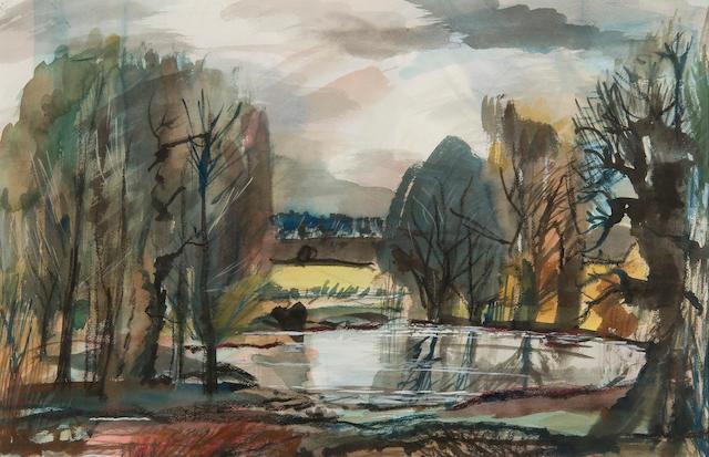 Rowland Suddaby (British, 1912-1973) Landscape
