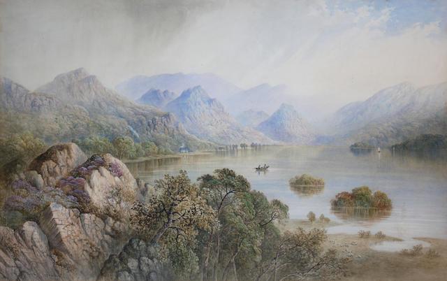 Cornelius Pearson (British, 1805-1891) 'Derwentwater',