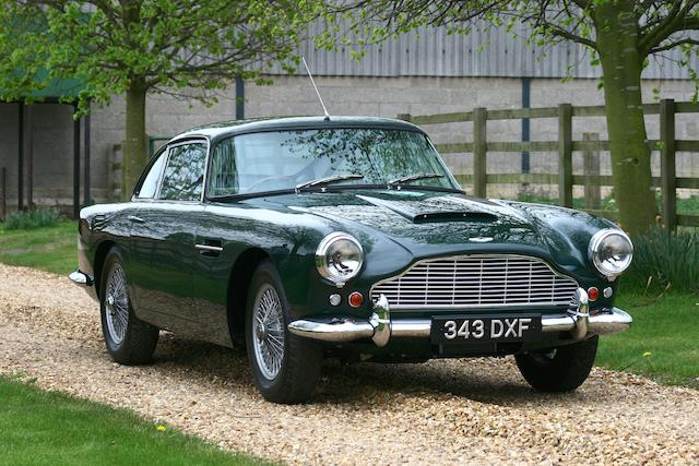 1962 Aston Martin DB4 Series IV Sports Saloon to Vantage specification   Chassis no. DB4/859/R Engine no. 370/872