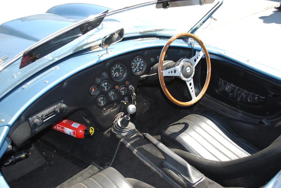 1989 Pilgrim Sumo AC Cobra Replica  Chassis no. SABTVRO3069264441 Engine no. TD09035