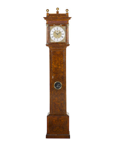 Tompion 489 with cartouches signature in a walnut case