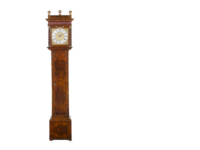 Tompion - an unnumbered walnut case