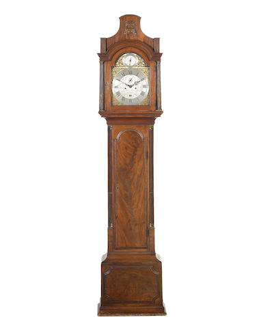 Longcase clock by Peter Jaques