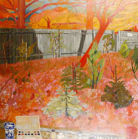 Christiane Kubrick (born 1932) Garden view