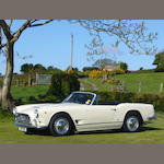1961 Maserati 3500GT Vignale Spyder  Chassis no. AM 101.1297 Engine no. AM 101.1297