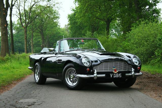 Bonhams 1965 Aston Martin Db5 Vantage Convertible Chassis No Db5c 2118 R Engine No 400 2370 V