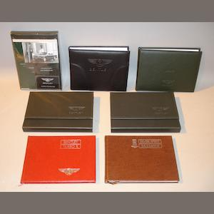 A lot of Rolls-Royce and Bentley handbooks,