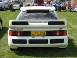 1986 Ford RS200 Coupé  Chassis no. SFACXXBJ2CGL00194 Engine no. GL00194