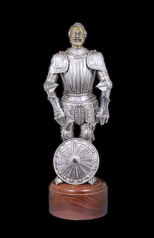 A Miniature 'Maximilian' Full Armour In German Early 16th Century Style