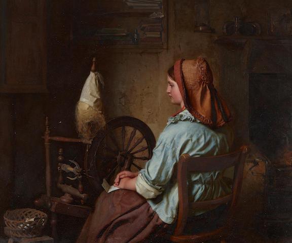John Faed, RSA (British, 1819-1902) The Letter