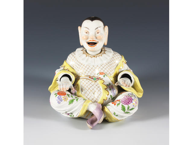 A Meissen pagoda figure Late 19th Century.