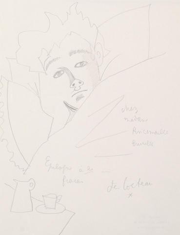Jean Cocteau (French, 1892-1963) Arthur Rimbaud