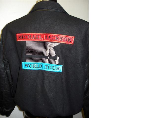 Michael Jackson: Two tour crew jackets,