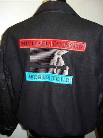 Michael Jackson: Two tour crew jackets,