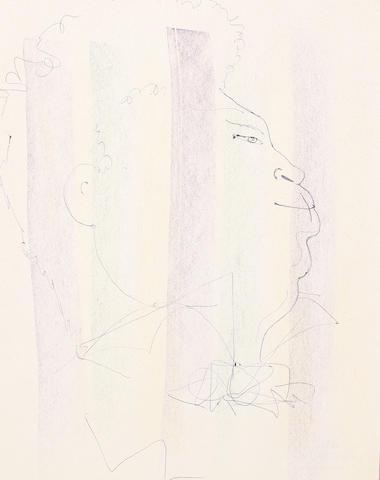 Jean Cocteau (French, 1892-1963) Alexandre Dumas