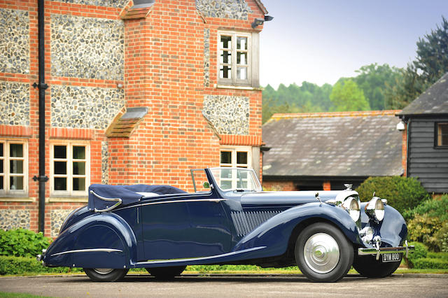 1937 Bentley 41/4-Litre Drophead Coupé  Chassis no. B129JY Engine no. T7BR