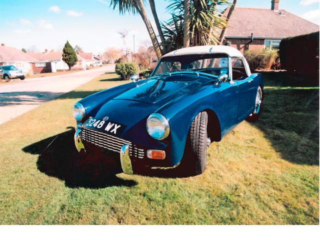 1960 Turner Mk1 Sports  Chassis no. 60/409 Engine no. 12H534SM