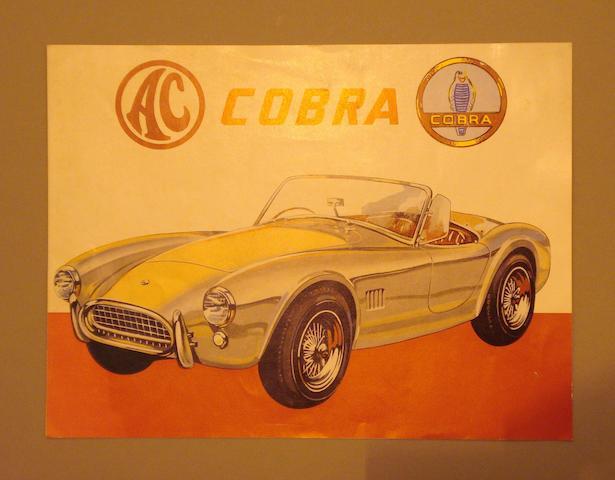 An AC Cobra sales brochure,