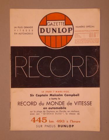 The Dunlop Gazette, 1935,