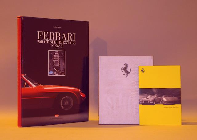 "Stirling Moss: Ferrari 250 GT Sperimentale ""No 2643""; a limited edition copy,"