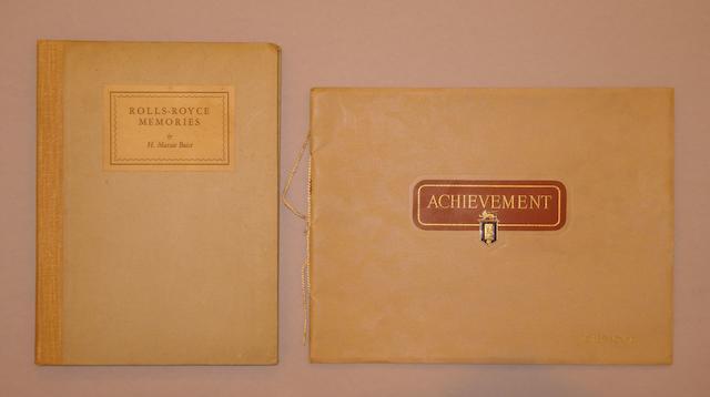 A Rolls-Royce Achievement publicity brochure,