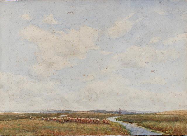 William Westley Manning (British, 1868-1954) 'The Herons Haunt-Suffolk'