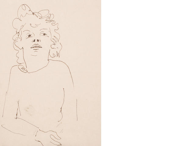 Jean Cocteau (French, 1892-1963) Marianne Oswald