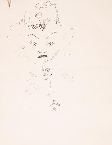 Jean Cocteau (French, 1889-1963) Yvonne de Bray