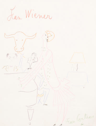 Jean Cocteau (French, 1892-1963) Jean Weiner, Le Boeuf sur le toit