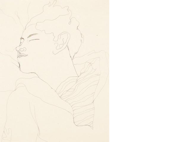 Jean Cocteau (French, 1892-1963) Jean Desbordes