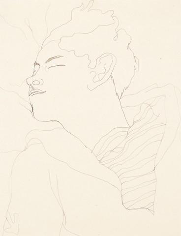 Jean Cocteau (French, 1889-1963) Jean Desbordes