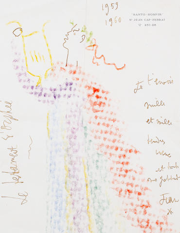 Jean Cocteau (French, 1892-1963) The Testament of Orpheus, 1959-1960