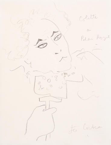 Jean Cocteau (French, 1889-1963) Colette
