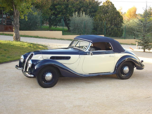 BMW 327 Cabriolet Sport Usine - 1938,