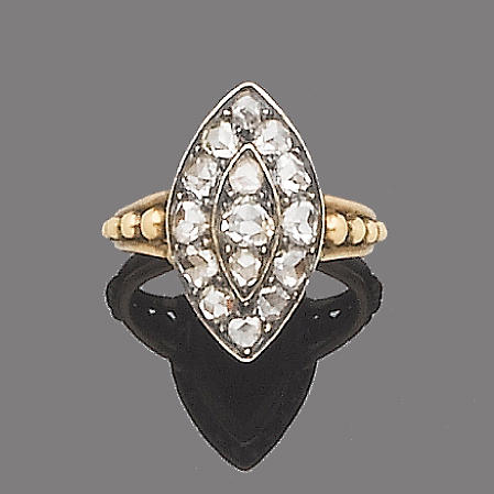 A diamond dress ring,