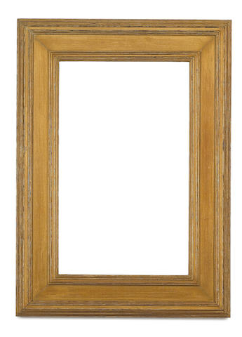 An English late 19th/early 20th Century gilded oak Whistler frame
