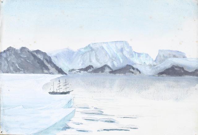 Apsley George Benet Cherry-Garrard (British, 1886-1959) Terra Nova unframed