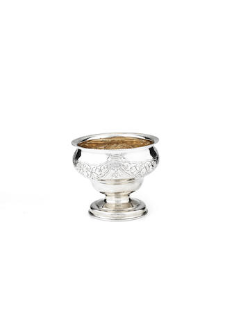 A George III sugar bowl By Benjamin Tait, Edinburgh 1767