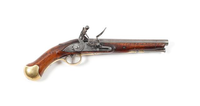 A Flintlock Short Sea Service Pistol