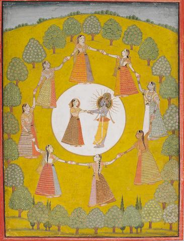 Radha and Krishna Datia