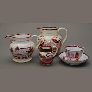 A group of British ceramics
