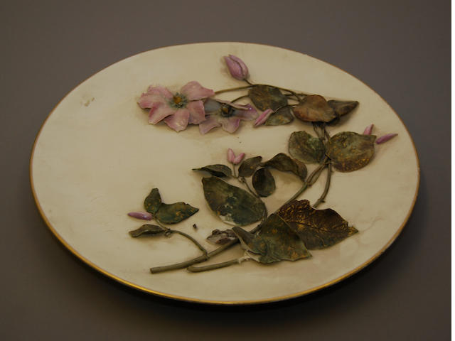 A Royal Worcester wall plaque