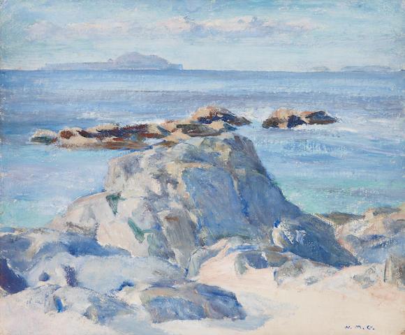 "William Mervyn Glass, RSA PSSA (British, 1885-1965) ""Lunga and Fladda"""